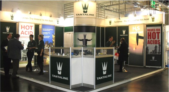 Modular booth design and construction