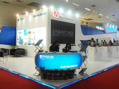 double decker exhibition stand company